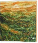 El Yunque Rainforest Wood Print