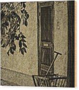 el Zaguan Wood Print