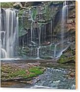 Elakala Falls Wood Print