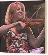 Elana James And The Continental Two Wood Print