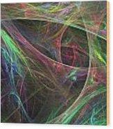 Elasticity-02 Wood Print