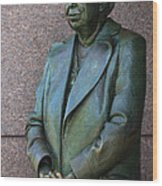 Eleanor Roosevelt Memorial Detail Wood Print