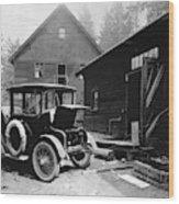 Electric Car, C1919 Wood Print