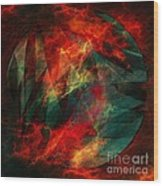 Electric Dreams Of The Ancients Wood Print