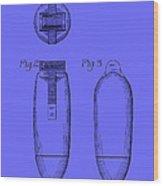 Electric Razor Patent 1939 Wood Print