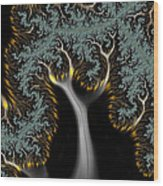Electric Tree - Phone Cases And Cards Wood Print