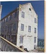 Electrical Repair Shop Alcatraz Island Wood Print