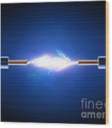Electric Current / Energy / Transfer Wood Print