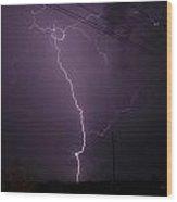 Electrifying Wood Print