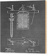 Electroplating Wood Print