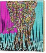 Elefantos - Cr01ac02 Wood Print