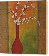 Elegant Bouquet Wood Print