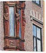 Elegant Window In Bergen Wood Print