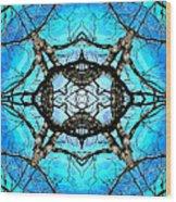 Elemental Force Wood Print