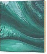 Elemental Sea No 2 Wood Print