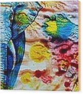 Elepant Abstract Wood Print