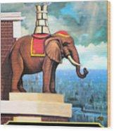 Elephant Castle Wood Print