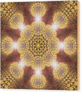 Eleven Sacred Steps Of Light K1 Wood Print by Derek Gedney