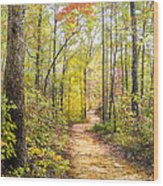 Elfin Forest Wood Print