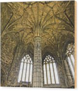 Elgin Cathedral Community - 20 Wood Print