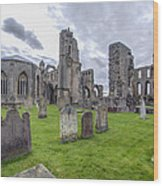 Elgin Cathedral Community - 3 Wood Print