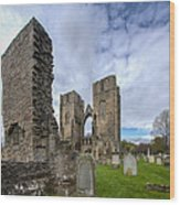 Elgin Cathedral Community - 5 Wood Print