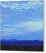 Elgol Sky Wood Print