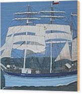 Elissa The Ship Wood Print