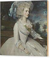 Elizabeth Countess Of Warwick Wood Print