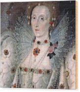 Elizabeth I Of England Wood Print