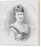 Elizabeth Of Romania (1843-1916) Wood Print