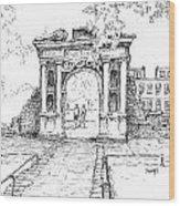 Elizabeth's Gate Wood Print