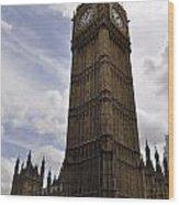Elizabeth Tower Wood Print