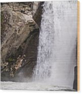 Elk Creek Falls 35 Wood Print