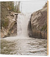 Elk Creek Falls 36 Wood Print