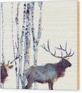 Elk // Follow Wood Print