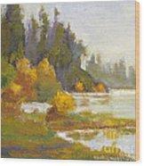Elk Island 3 Wood Print