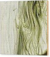 Ella En Primavera Wood Print