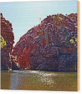 Ellery Creek Waterhole  Wood Print