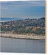 Elliott Bay Marina Wood Print