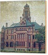Ellis County Courthouse Wood Print