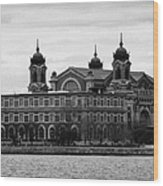Ellis Island New York City Wood Print
