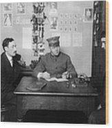Ellis Island: Testing, C1914 Wood Print