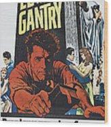 Elmer Gantry, Us Poster Art, Center Wood Print