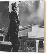 Elton John '86 #1 Wood Print