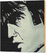 Elvis.     The King Wood Print