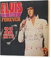 Elvis Album Wood Print