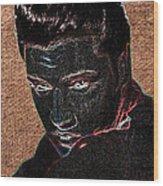 Elvis Art Wood Print