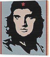 Elvis Che Guevara Viva Las Vegas Wood Print
