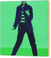 Elvis Is In The House 20130215p91 Wood Print